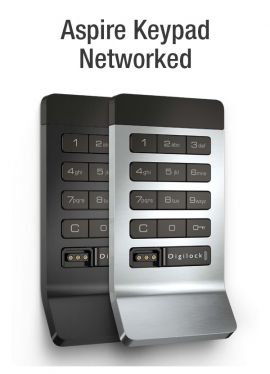 Network Keypad with programming device* Standard Surface Mount with Pull