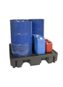 Drumbank Pallet Store & Spill pallet for oil drum storage