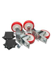 """6"""" Heavy Duty Castors (supply only) c/w Fixing Kit"""