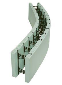 Radius Form Unit - Unassembled - Price Per Block