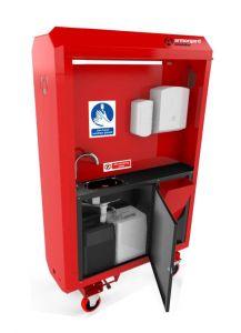 SaniStation Pro Tank Fed - SP140 Portable Sanitation Station
