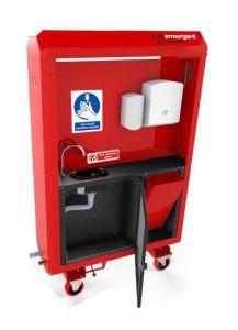 SaniStation Pro Mains Fed - SP160 Portable Sanitation Station