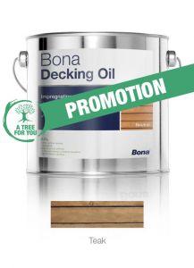 Bona Decking Oil Teak 2.5L