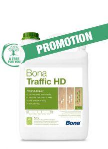 Bona Traffic HD Silk Matt 4.95L - From Factory