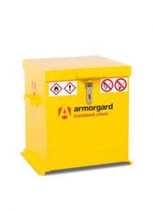 Transbank ChemSafe vault for transportation of chemicals