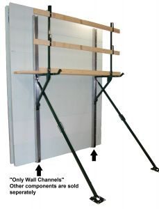 Wall Channels - Price for 20 Sets