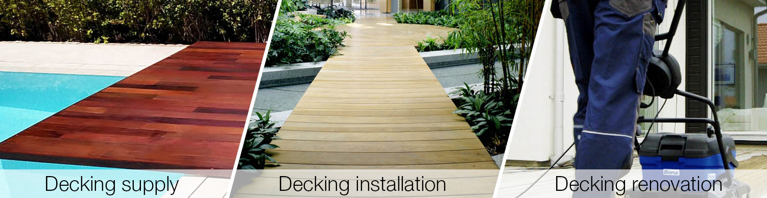 Decking supply in Dubai